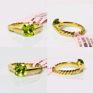 David Yurman Jewelry - NWT David Yurman 18k Gold Deco Ring